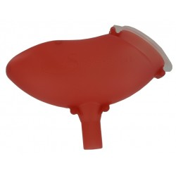 Réservoir 200 Rouge Translucide
