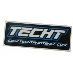 Sticker TechT Bleu
