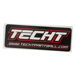 Sticker TechT Red