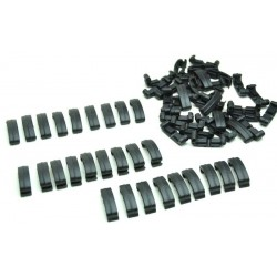 Black Eagle Clips, 60 Piece Set (BK)