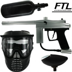 Kit paintball BE FTL (air+masque+loader)